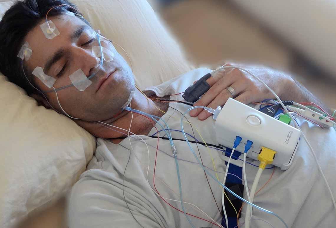 Sleep study dapat dipahami sebagai serangkaian tes untuk merekam data selama seseorang tertidur